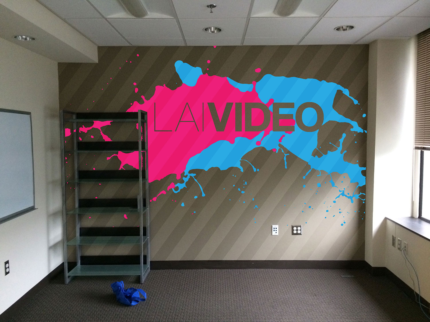 LAI Video Office Wall Mural James Favata